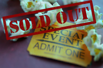 Sold Out ticket