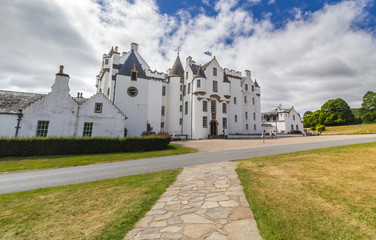 Blair Castle, Scotland - Ancestral home of the Clan Murray, and the seat of their chief, the Duke of Atholl.