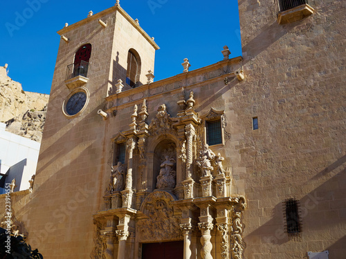 Basilica De Santa Maria Saint Mary Church Alicante Valencia Spain