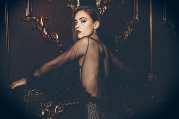 evening of elegant lady