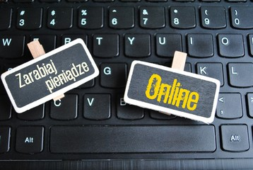 Zarabiaj pieniądze online - fototapety na wymiar