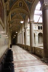 Aula im Justizpalast in Wien