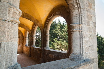 Monastery of Filerimos, Rhodes Island, Greece.