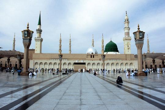 Holy place Madina & Saudia Mosque
