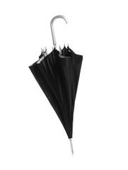 Beautiful umbrella on white background