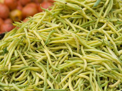 Yellow string beans