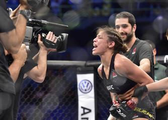 MMA: UFC Fight Night-Sao Paulo-Bueno Silva vs Robertson