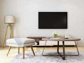 Modern minimalist bedroom design