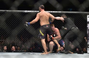 MMA: UFC Fight Night-Sao Paulo-Alvey vs Nogueira