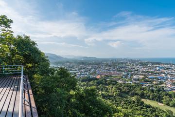 Cityscape of Hua Hin Prachuap Khiri Khan, Thailand