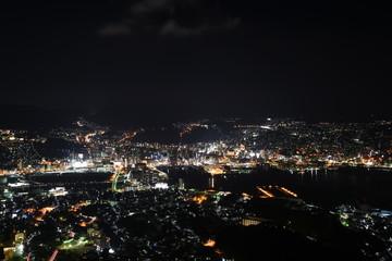 The world's three great night scenes,Nagasaki