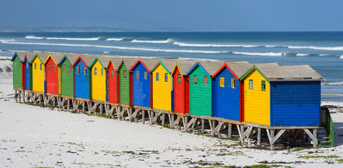 Muizenberg South Africa Rainbow