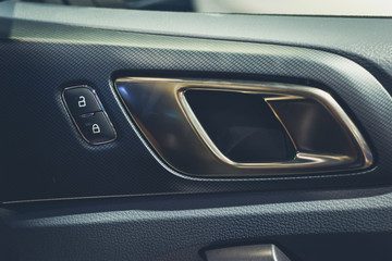 Modern car door lock switch,car door opening handle