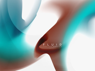 Background abstract - liquid colors wave flow