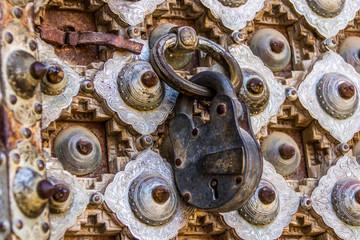 Ancient door and Locks