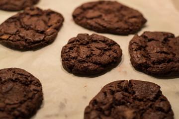 Chcolate Cookies fresh baked