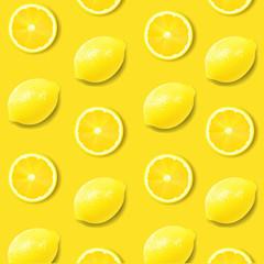 Yellow Lemon Poster