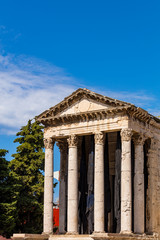 Augustus-Tempel in pula
