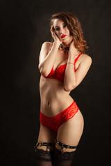 female strip tease