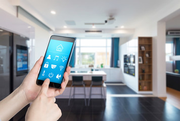Use smart home apps on smart phones