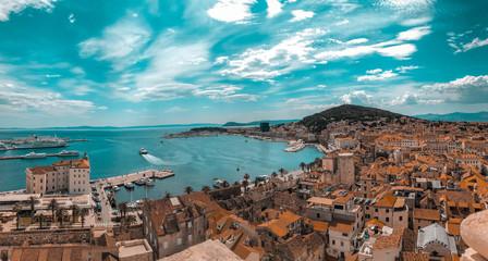 Viewpoint in Split, Croatia