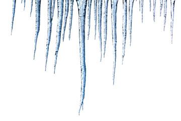 Winterzeit, Eiszapfen