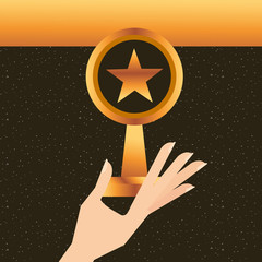 movie awards concept