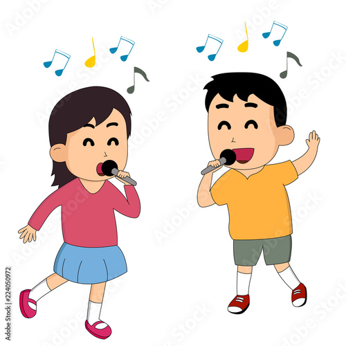 sisters and brothers are singing their favorite songs