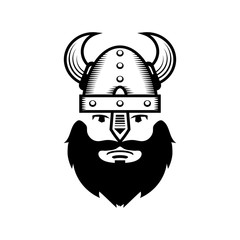 Viking Warrior Head Icon