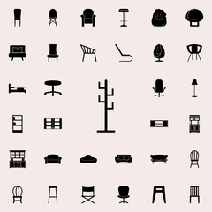 hanger icon. Furniture icons universal set for web and mobile