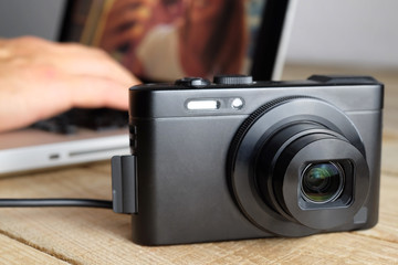 transferring photos from a camera to a computer