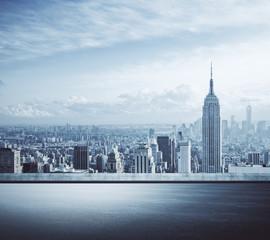 Creative New York city background