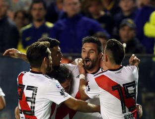 Soccer Football - Argentine First Division - River Plate v Boca Juniors