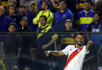 Soccer Football - Argentine First Division - River Plate v Boca Juniors