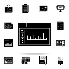 admin control panel icon. Web Development icons universal set for web and mobile