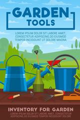 Gardening tools and work equipment