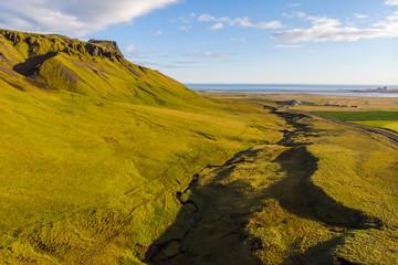 Wonderful sight green field
