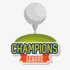 golf sport champions league icons