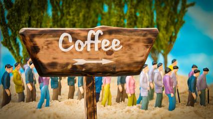 Schild 365 - Coffee