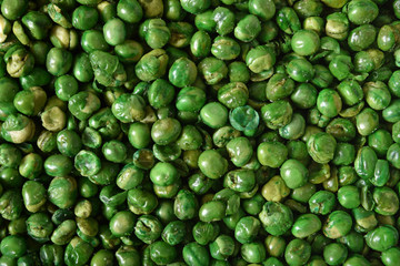 Green Pea Background Wall mural