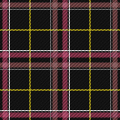 Scottish Tartan Checkered Seamless Pattern. Vector Repeat Background