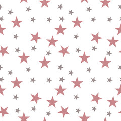 Star seamless pattern.Design template for wallpaper,fabric,wrapping,textile