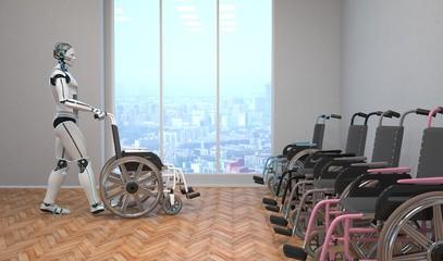 Robot Wheel Chair