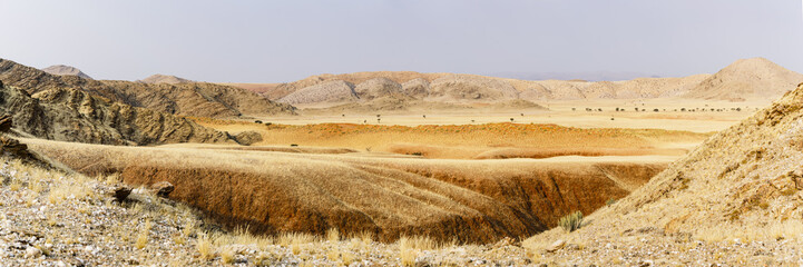 Landschaft im Tsondab Valley Nature Reserve, Panorama, Namib-Naukluft-Nationalpark