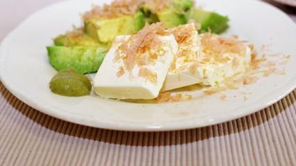 アボガドとチーズのコラボレーション
