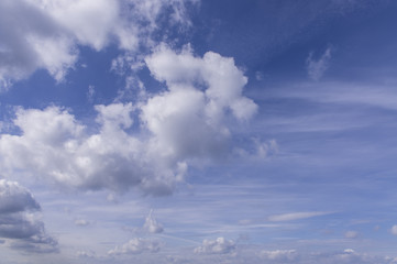 Niebo w pogodny dzień