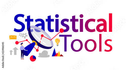 Statistical tools for data research and analysis