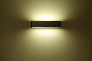 light bulb on the wall