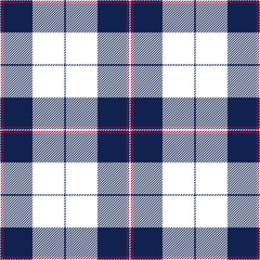 Tartan seamless pattern. Vector background