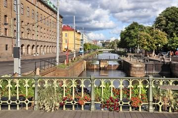 Gothenburg lock in Sweden